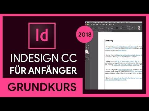 Adobe InDesign CC (2018) Grundkurs für Anfänger (Tutorial)
