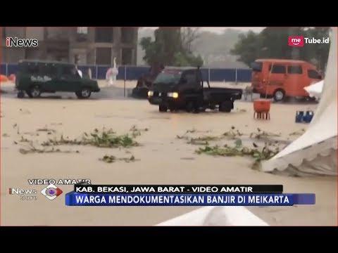 [Video Amatir] Festival Hiburan Meikarta Hancur Terendam Banjir - iNews Sore 12/12