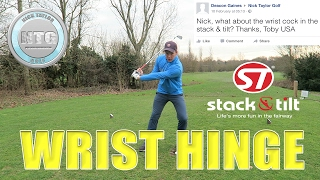 Wrist Hinge   Golf Tips   Lesson 39