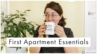 First Apartment Essentials On A Budget || Minimalism