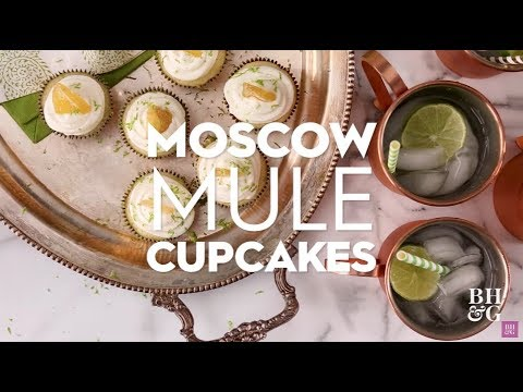 Moscow Mule Cupcakes | Eat This Now | Better Homes & Gardens