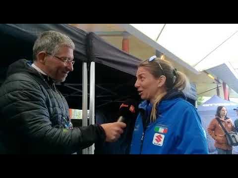 Yorkshire 2019: Tatiana Guderzo prima della partenza