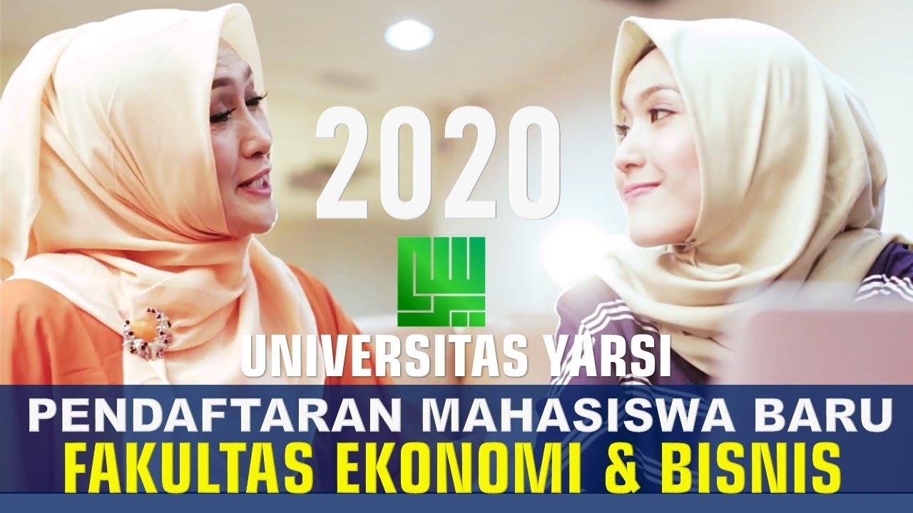 Pendaftaran Mahasiswa Baru FEB Yarsi 2020