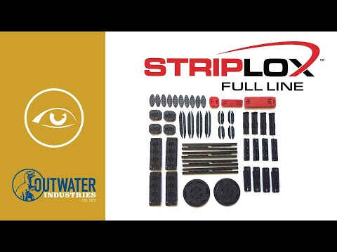 Black Striplox Mini 60 Connector