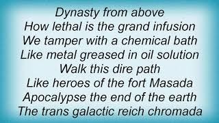 Army Of Lovers - Dynasty Of Planet Chromada Lyrics