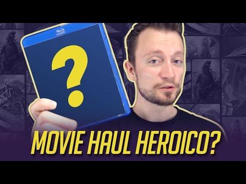 Movie haul! 3 filmes + 1 graphic novel   Comprando Heroicamente   Episódio #20