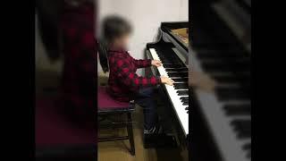 青梅市・羽村市ピアノ教室 レッスン風景 年長さん