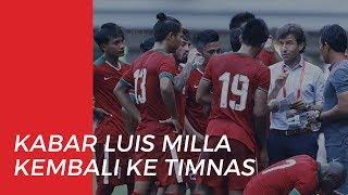 Beredar Kabar Luis Milla akan Kembali Mengisi Bangku Kepelatihan Timnas Indonesia