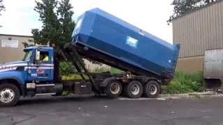 Republic Services /Allied Waste 3449- Mack Granite Galbreath Rolloff