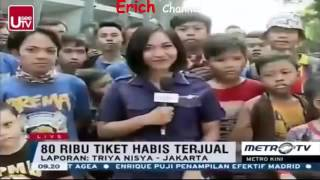 Berita 4 April 2016 VIDEO Arema Juara Jalanan Di Kota Malang Dipenuhi Konvoi Aremania HO