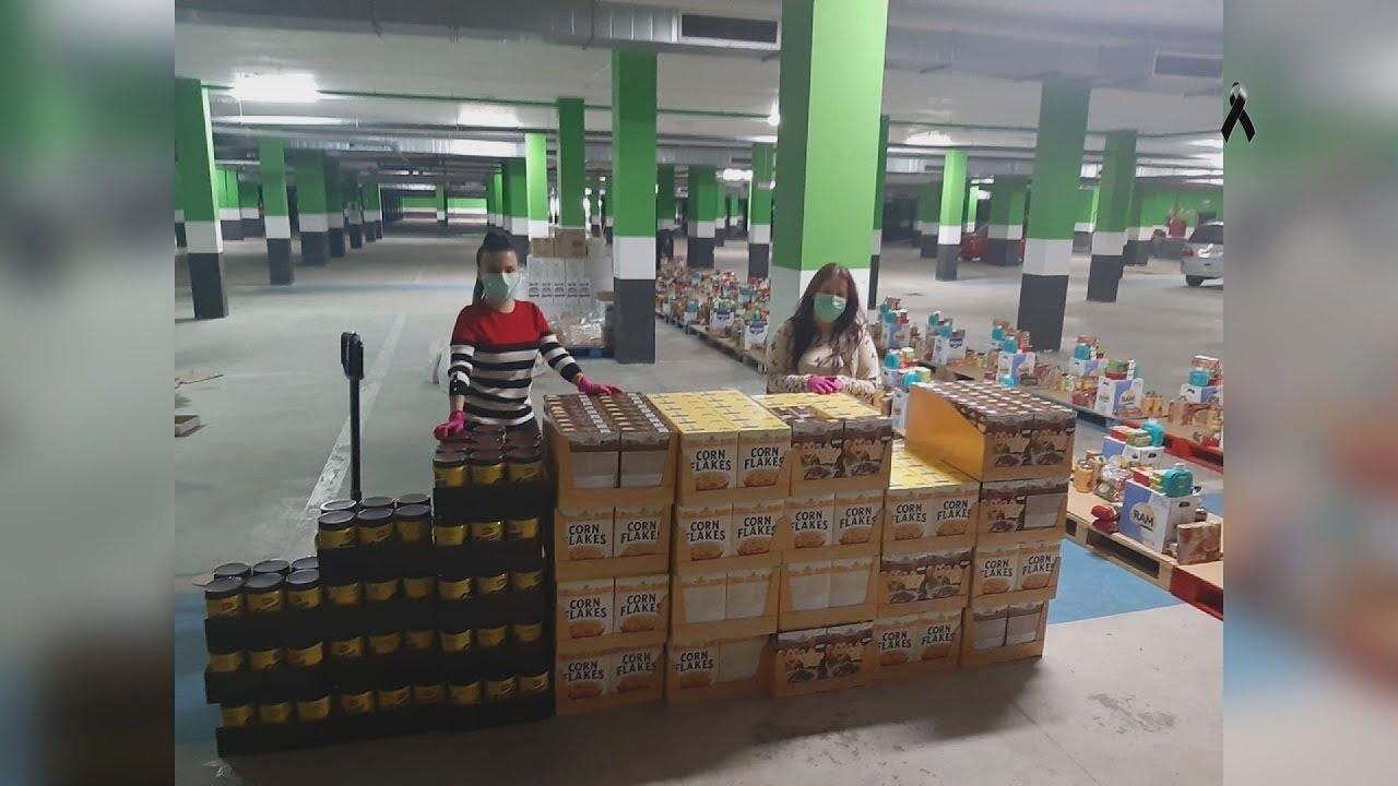 La Peña los Niños colabora con el banco de alimentos