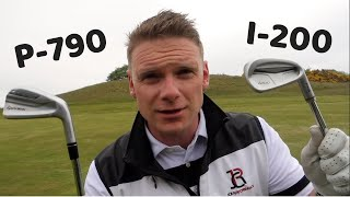 PING I200 IRON VS TAYLORMADE P790 IRON  In Studio And On Course Test