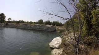 Cliff Jumping in Melissa Tx - GoPro Hero