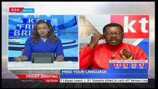 Mind Your Language: Willice 'The Word master' Ochieng' with the right pronunciations