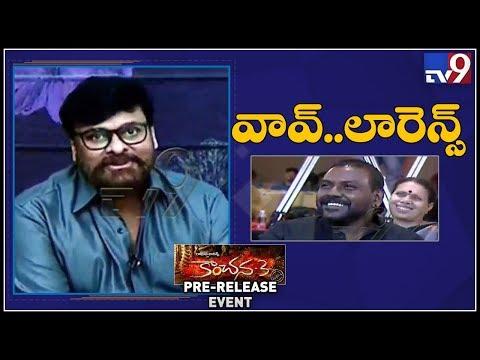 Megastar Chiranjeevi Praises Raghava Lawrence At Kanchana 3 Pre Release Event
