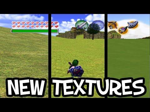 Zelda: Ocarina of Time HD Texture Pack Installieren (Tutorial
