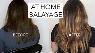 HOW TO: DIY BALAYAGE - DARK HAIR