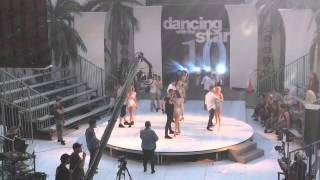 DWTS! RARE! NEW! PRO DANCERS REHEARSING FOR FINALE! W/MANDY MOORE!
