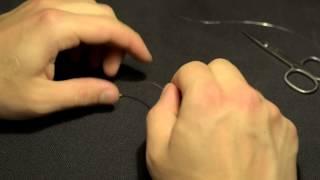 Как правильно вязать симметричную петлю для фидера