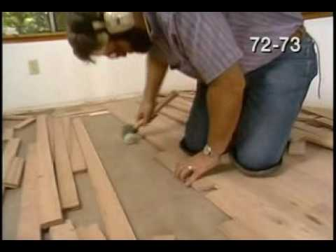 """Hardwood Floor Expansion Gaps and Fitting Borders - """"Laying Hardwood Floors"""" Part 5 of 8"""