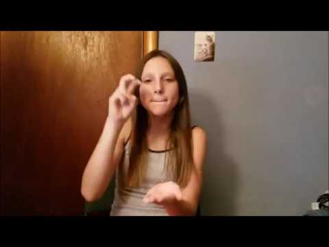 TRAMPOLINE SHAED -ASL DEAF SIGN LANGUAGE ENGLISH