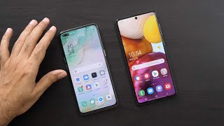 Samsung Galaxy A71 vs Oppo Reno3 Pro Practical Comparison