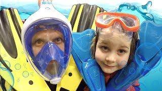 Let's Go Swimming | Learn Sports for Kids, Children and Toddlers | Sports Day with Daddy and Tim