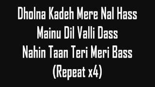 Tunak Tunak Tun - Daler Mehndi (lyrics)