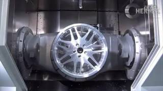 Axis CNC machining car wheels