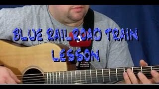 Blue Railroad Train Lesson