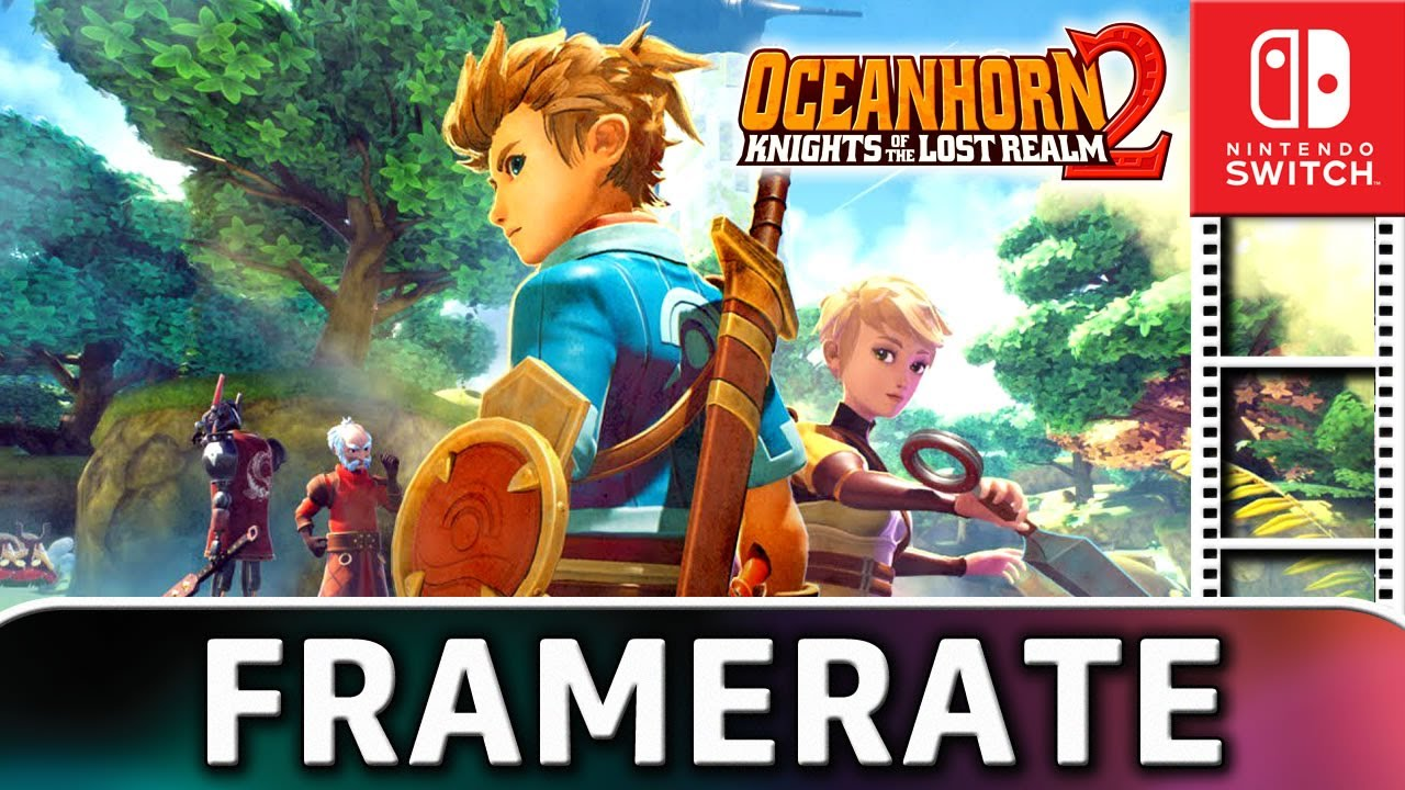 Oceanhorn 2: Knights of the Lost Realm |  Nintendo Switch Gameplay and Frame Rate