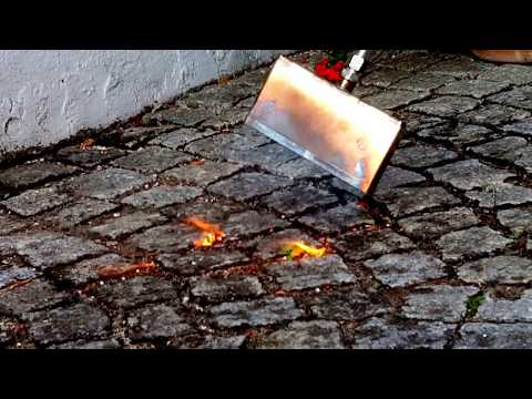 Reinert tragbares Abflammgerät