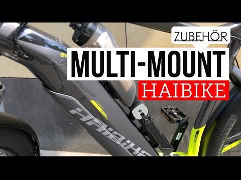 Zubehör : Multi-Mountsystem HAIBIKE MRS am Rahmen befestigen (sduro Trekking 9.0)