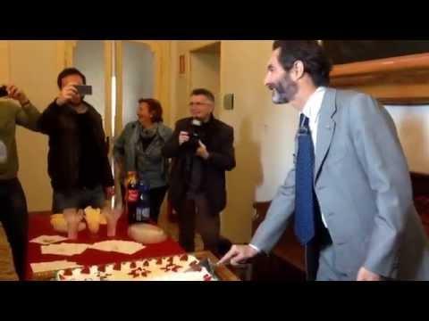 Il compleanno del sindaco Fontana