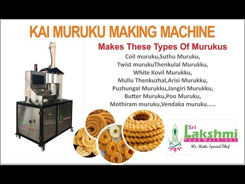 Kai Murukku / Hand Murukku Making Machine