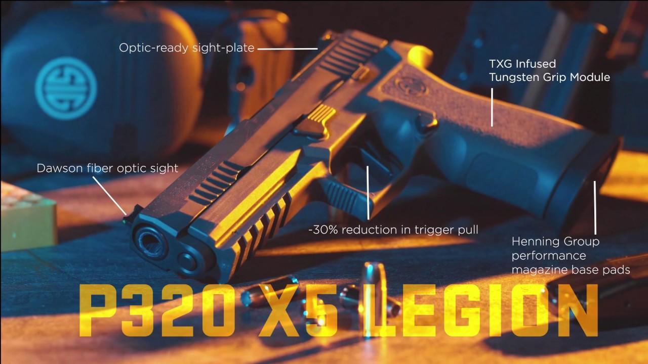 P320 Xfive Legion