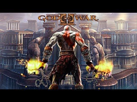 Качественный  игрофильм Бог войны 2. God of war 2. PS2/PS3. Полностью на русском языке.
