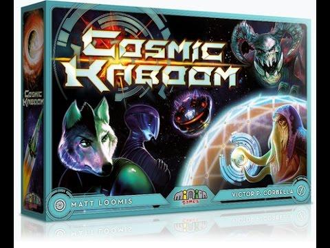 Cosmic Kaboom - Unfiltered Gamer - Kickstarter Board Game Review