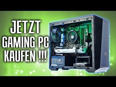Warum DU JETZT einen GAMING PC kaufen solltest! - Kaufberatung 2018