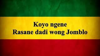 Koyo Ngene Rasane Dadi Jomblo#2019gantistatus #JoFiSa