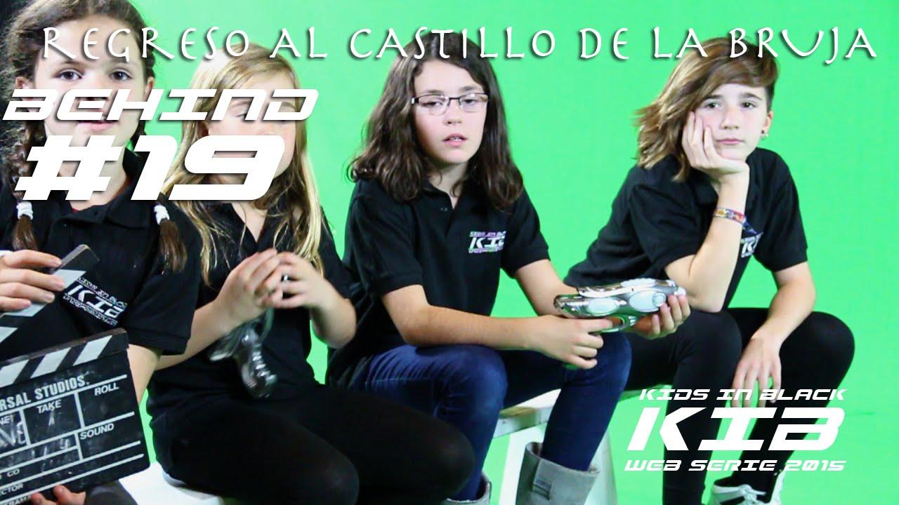 Regreso al Castillo de la Bruja - Kids In Black 2015 - Detrás de las cámaras #19