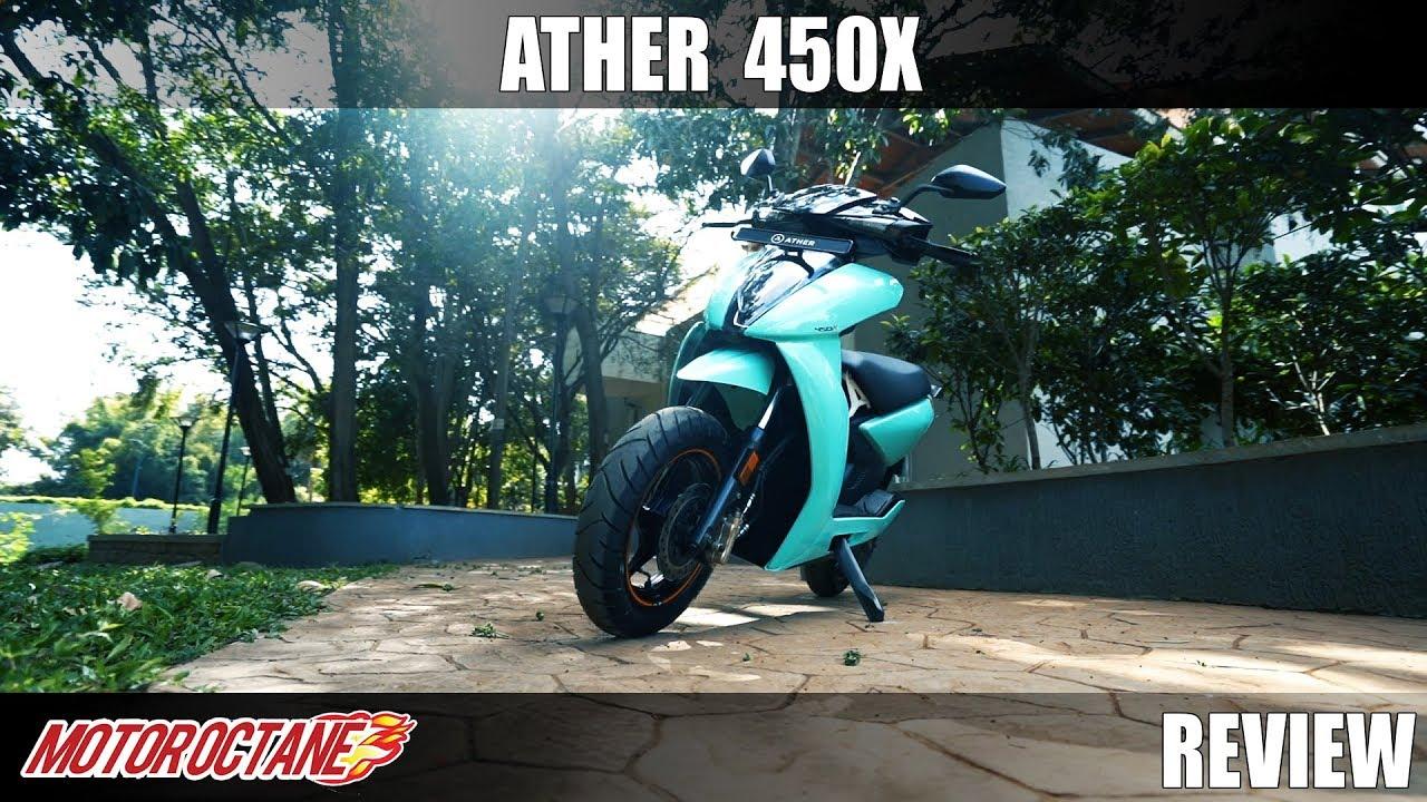 Motoroctane Youtube Video - Ather 450x review | Hindi | MotorOctane
