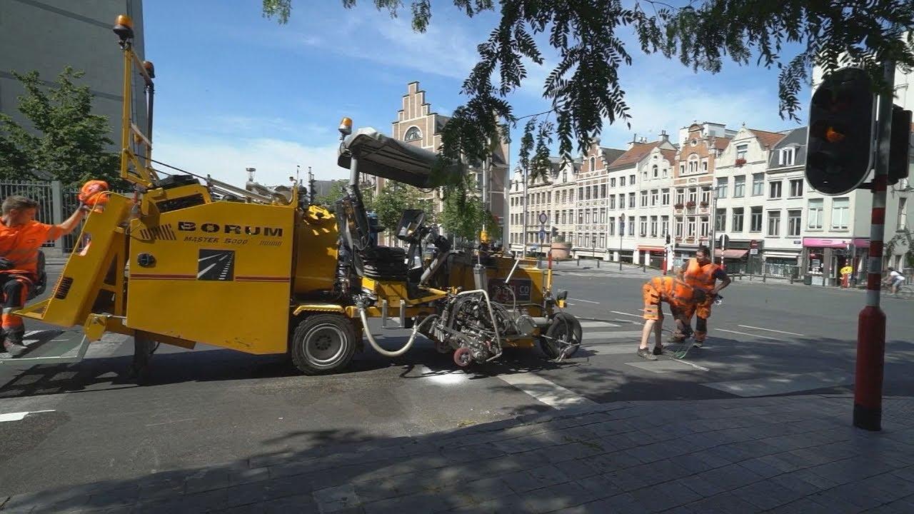 Βέλγιο : Εγκατάσταση νέων υποδομών για ποδήλατα μετά την άρση της καραντίνας