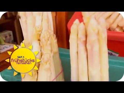 SPARGEL richtig zubereiten | SAT.1 Frühstücksfernsehen
