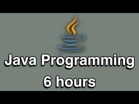 Java Programming All-in-One Tutorial Series (6 HOURS!)