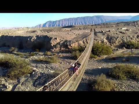 Tacna Puente Colgante Diseño Inca