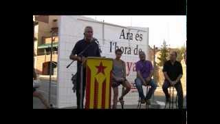 preview picture of video 'Onze de Setembre a Sant Celoni - Diego Cañamero'