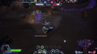 Heroes of the Storm : Pro Abathur Win