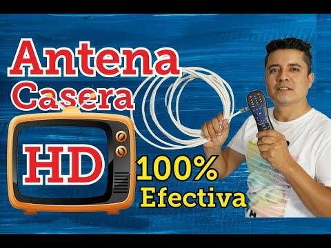 COMO HACER UNA ANTENA HD CASERA 2020, Antena hd económica, Antena digital, tv digital, señal abierta