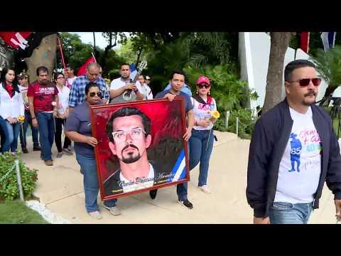 Nicaragua rinde homenaje al Comandante Carlos Fonseca